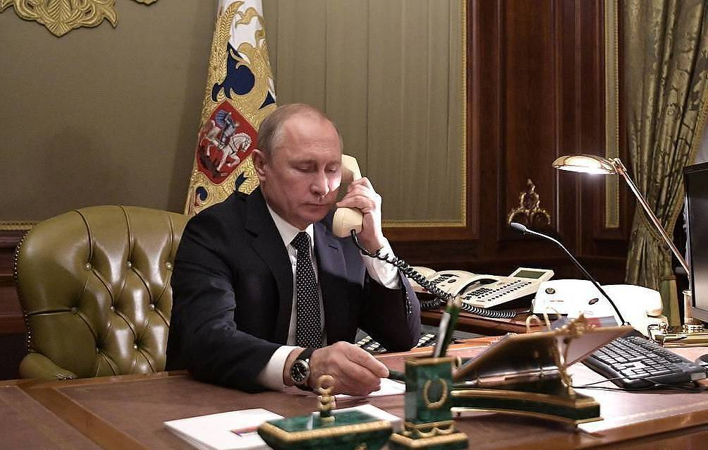 Telephone conversation of Vladimir Putin with Federal Chancellor of Germany Angela Merkel