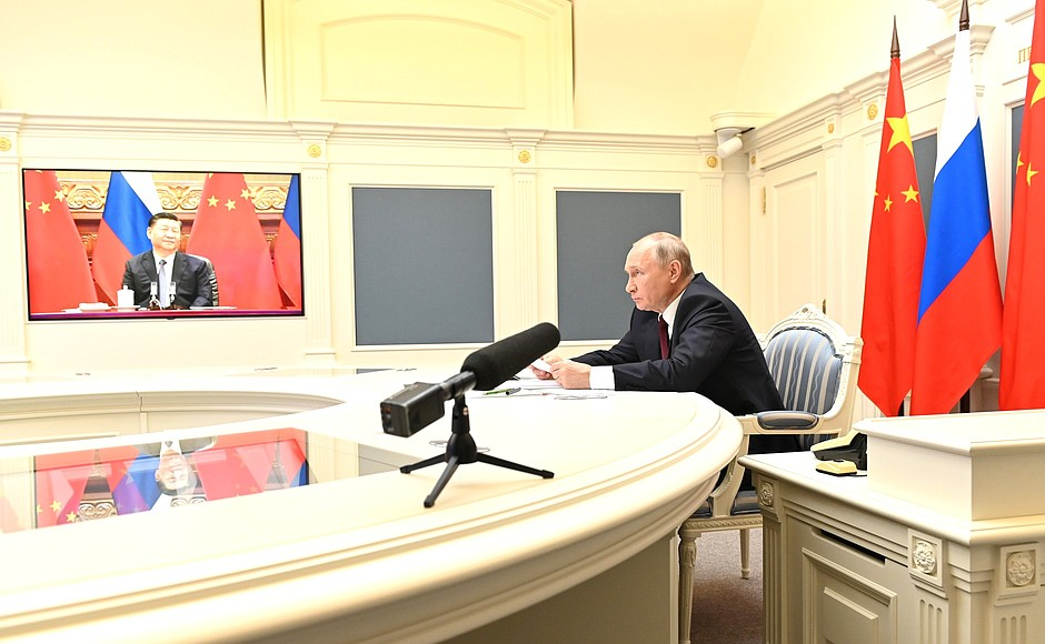 Conversation with President of China Xi Jinping